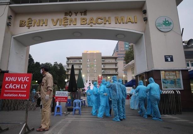 Hà Nội đang là nơi có số ca bệnh nhiều nhất cả nước và cũng là nơi có mức độ lây lan dịch nguy hiểm nhất.
