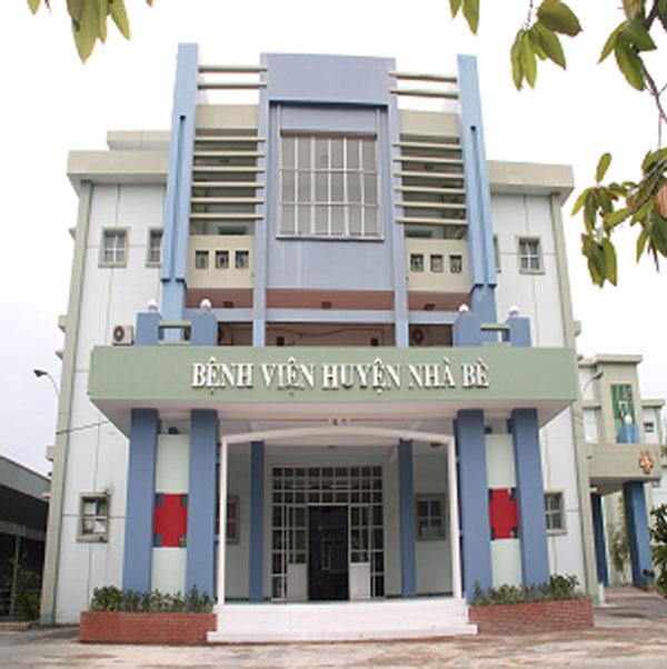 Trụ sở Bệnh viện huyện Nhà Bè - TP.HCM. (Ảnh qua nld)