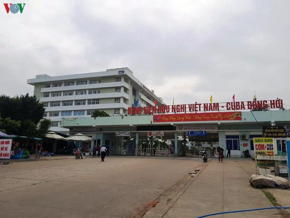 Bệnh viện hữu nghị Việt Nam - Cuba Đồng Hới. (Ảnh qua VOV)