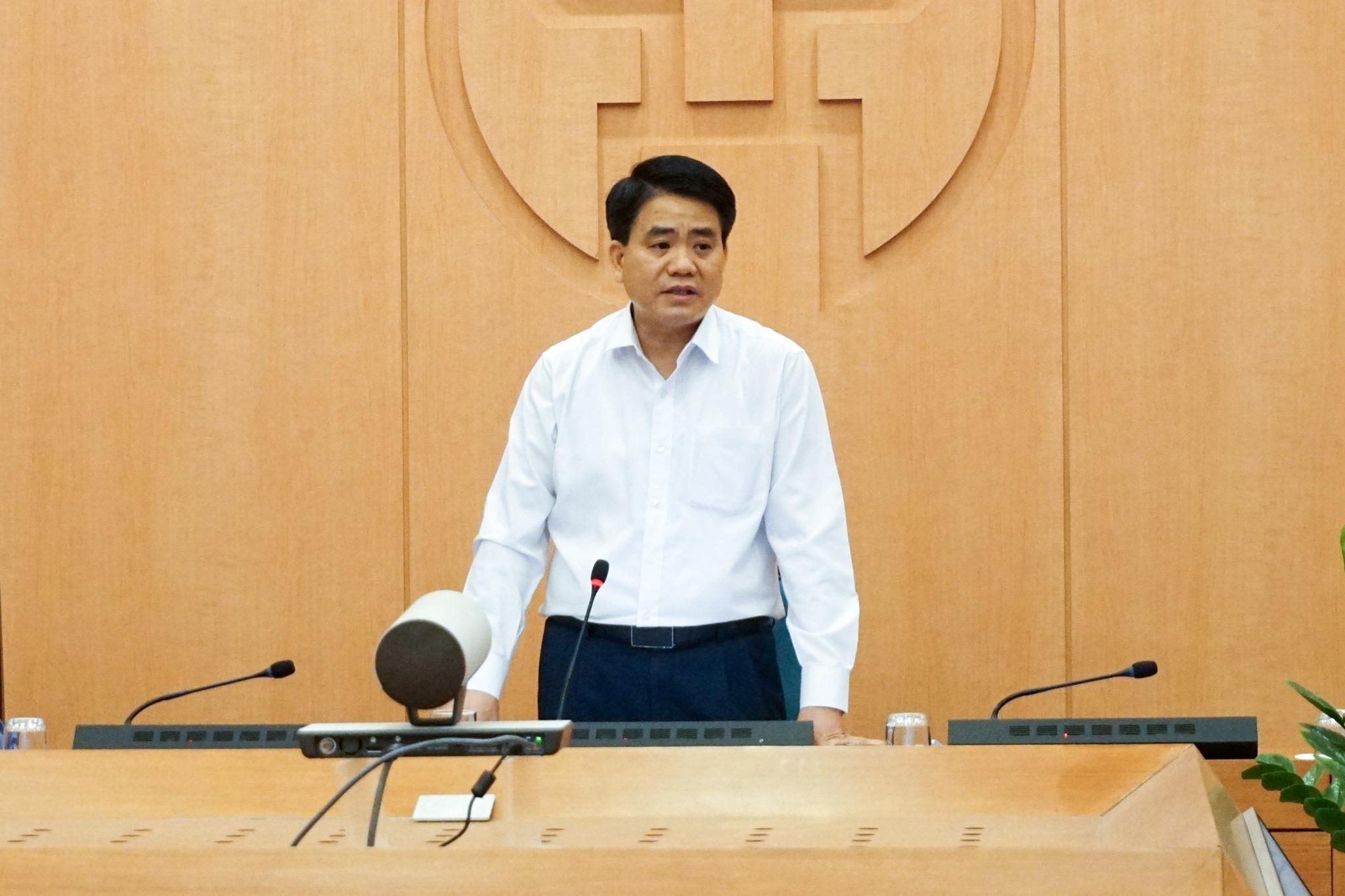 Chủ tịch UBND TP. Hà Nội Nguyễn Đức Chung. (Ảnh qua vietnamnet)