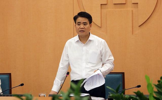 Chủ tịch UBND TP. Hà Nội Nguyễn Đức Chung. (Ảnh qua dantri)