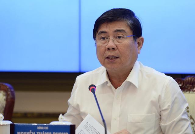 Chủ tịch UBND TP.HCM Nguyễn Thành Phong. (Ảnh qua tuoitre)