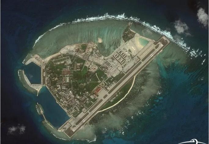 Đảo Phú Lâm thuộc quần đảo Hoàng Sa của Việt Nam nhưng bị Trung Quốc chiếm đóng trái phép. (Ảnh qua nld)
