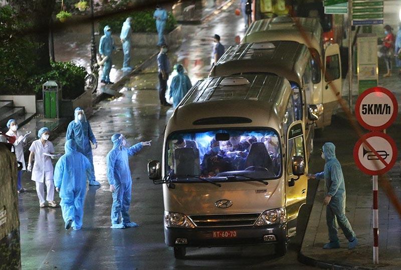 Hà Nội Phát hiện một ca nhiễm virus Vũ Hán sau 23 ngày đến khám tại BV Bạch Mai 2