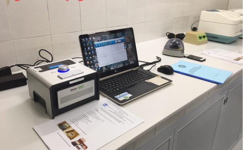 Hệ thống xét nghiệm Realtime-PCR. (Ảnh qua nld)
