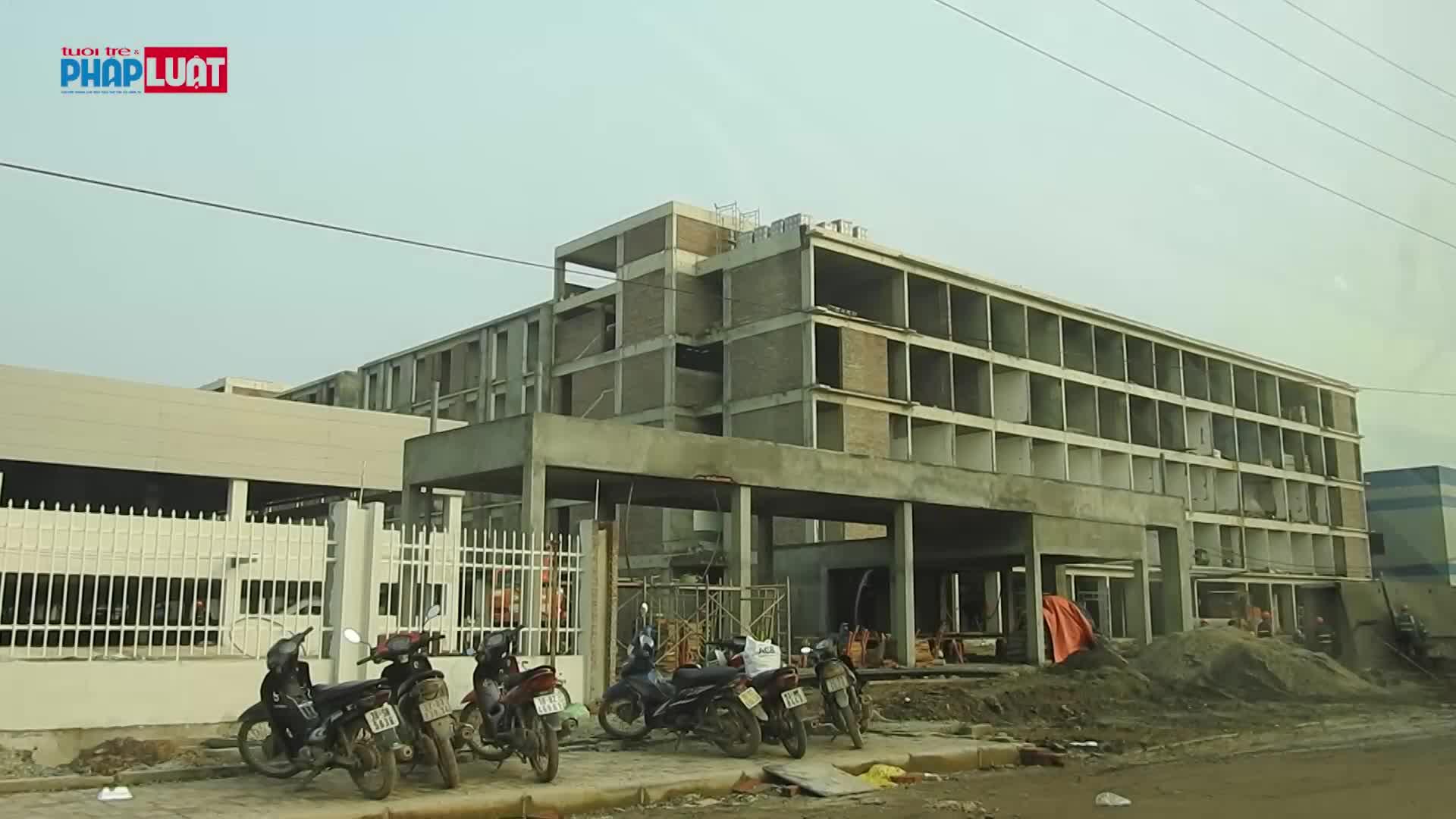 Bắc Giang: Nhiều lần bị xử phạt, DN Trung Quốc tiếp tục xây dựng trái phép 3 toà nhà giữa KCN - Ảnh 2