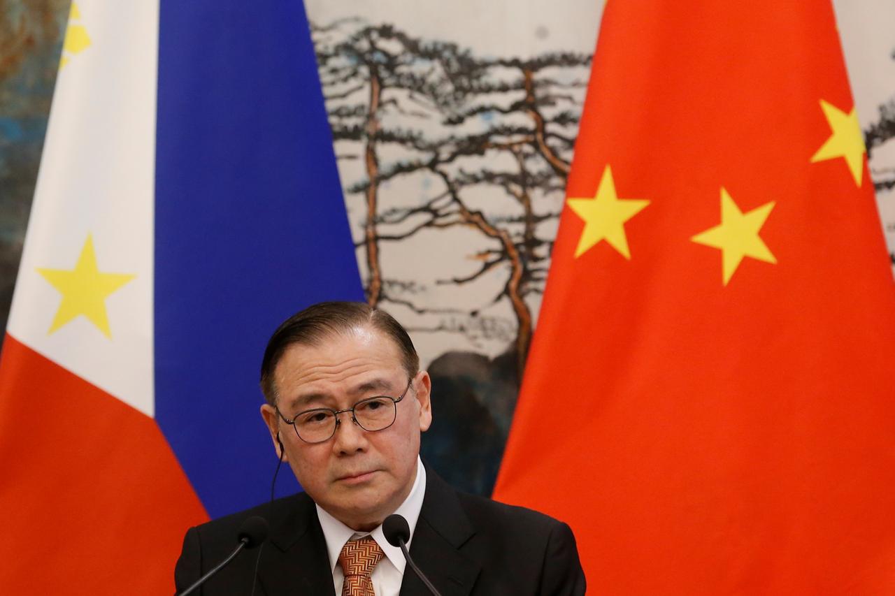 Ngoại trưởng Philippines, ông Teodoro Locsin. (Ảnh qua tuoitre)