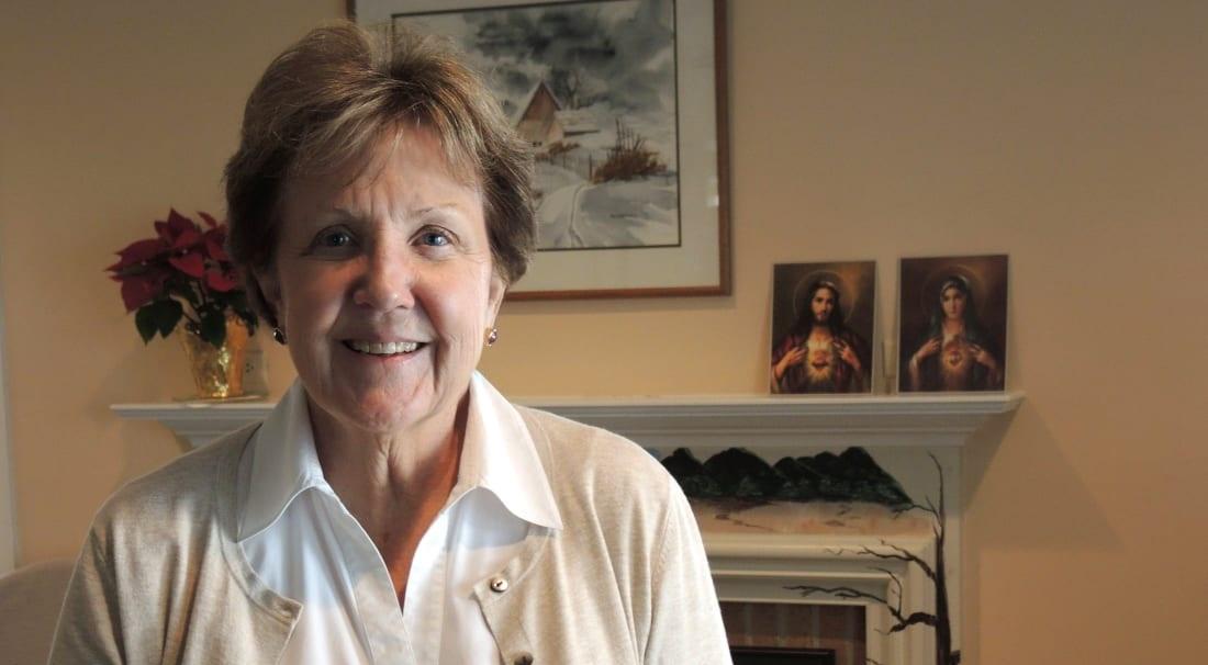 Bà Celeste Sweeney, đến từ bang Maryland, Hoa Kỳ