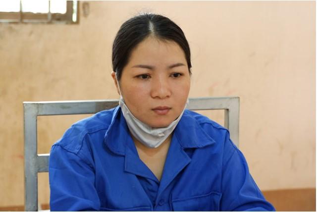 Nguyễn Bé Trang bị bắt theo lệnh nã về tội đánh bạc. (Ảnh qua thanhnien)