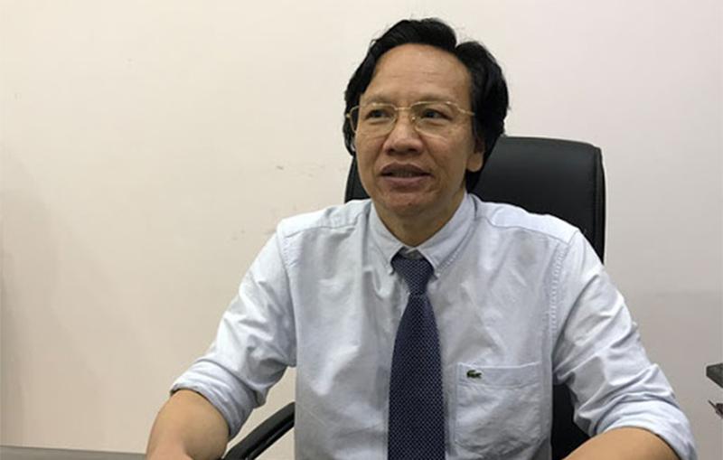 Ông Doãn Hữu Long - nguyên Giám đốc Sở Y tế Đắk Lắk vừa bị bắt tạm giam để phục vụ điều tra. (Ảnh qua dantri)