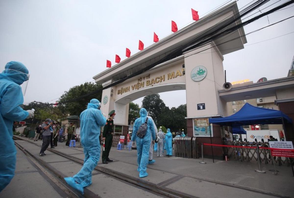 Ông Nguyễn Đức Chung 7000 xét nghiệm từ 19-24-3 ở BV Bạch Mai không có giá trị 3