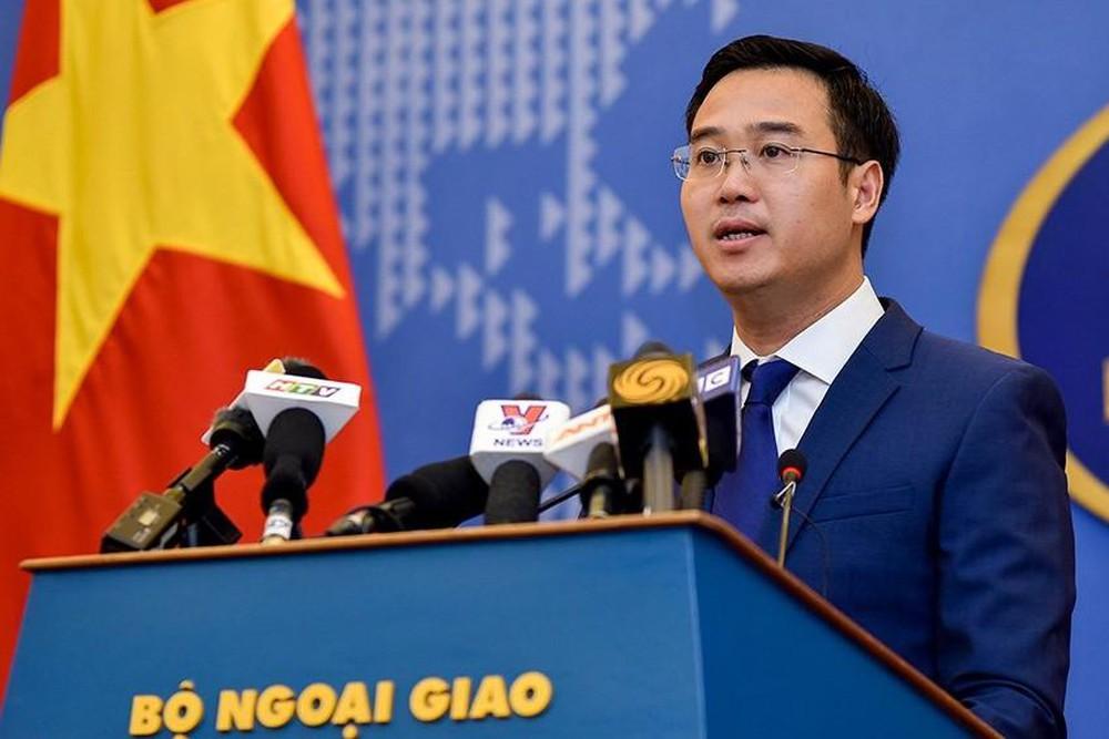 Phó Phát ngôn viên Bộ Ngoại giao Việt Nam Ngô Toàn Thắng. (Ảnh qua. (Ảnh qua nld)