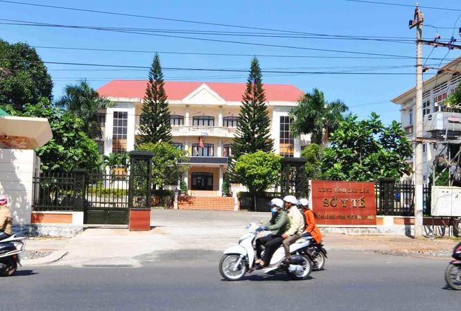 Sở Y tế Đắk Lắk, nơi nhiều cán bộ ngành y bị khởi tố. (Ảnh qua laodong)