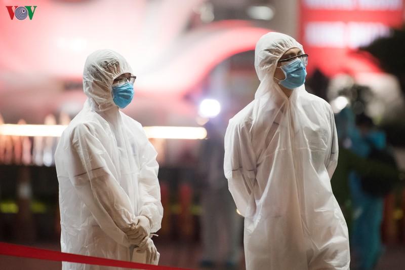 Thêm 2 ca nhiễm virus Vũ Hán mới từ ổ dịch Mê Linh, nâng số ca bệnh lên 262. (Ảnh qua VOV)