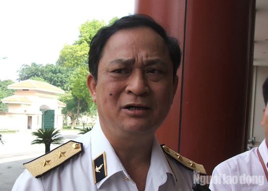 Đô đốc Hải quân Nguyễn Văn Hiến bị khai trừ Đảng