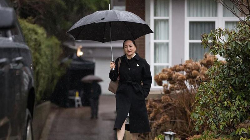 Ngày 23/1/2020, bà Mạnh Vãn Châu đến Phiên điều trần dẫn độ của Tòa án tối cao tỉnh British Columbia