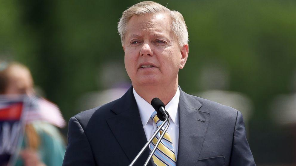 Ông Lindsey Graham - Thượng nghị sĩ hàng đầu của đảng Cộng hòa Mỹ.