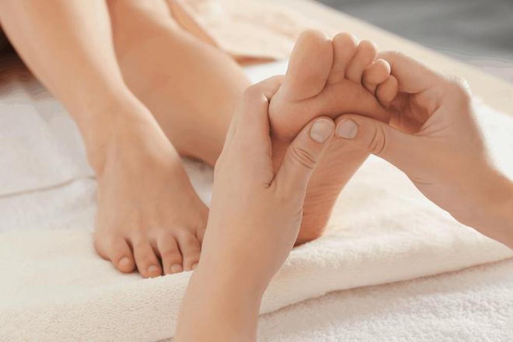 Kích thích lòng bàn chân có tác dụng trợ giúp thần kinh thực vật