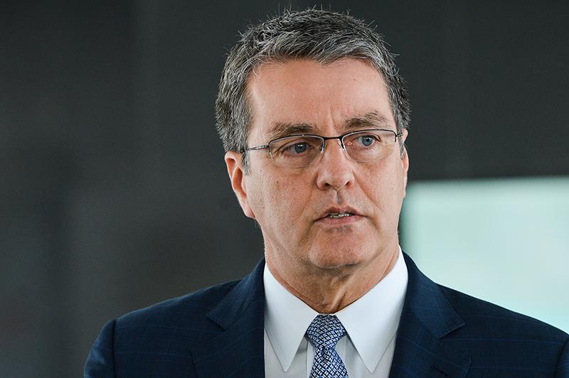 Tổng Giám đốc WTO, Roberto Azevedo thông báo ông sẽ rời khỏi cương vị này vào ngày 31/8, sớm hơn một năm so với thời điểm kết thúc nhiệm kỳ.