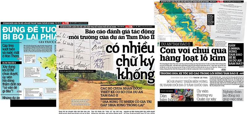 Bị đình bản báo điện tử, báo Phụ Nữ ra báo giấy phản đối (ảnh 3)