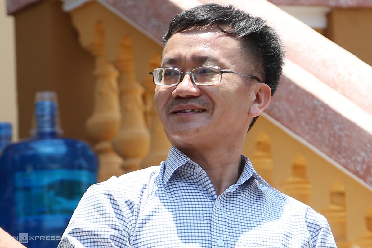 Ông Nguyễn Quang Vinh. (Ảnh qua vnexpress)