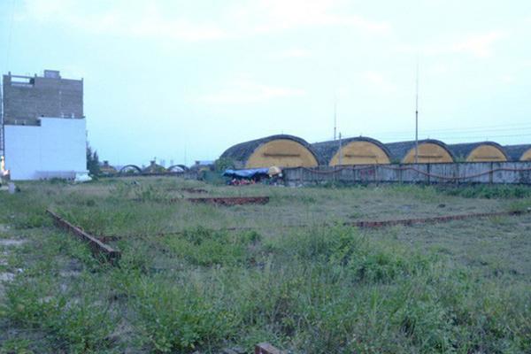 Một số lô đất cạnh sân bay Nước Mặn, Đà Nẵng. (Ảnh qua vietnamnet)