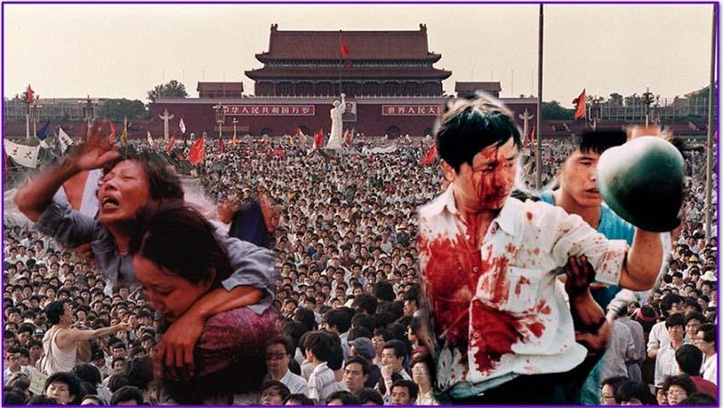 Thiên An Môn năm 1989: Cuộc thảm sát máu lạnh của Chính quyền Trung Quốc.