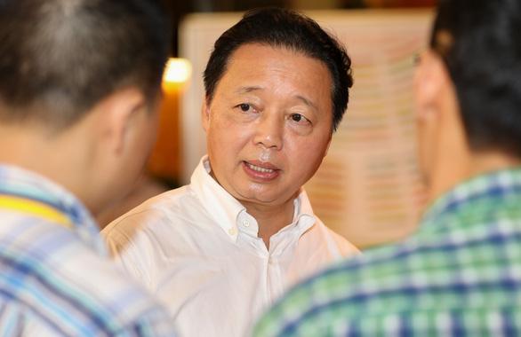 Bộ trưởng Bộ Tài nguyên và môi trường Trần Hồng Hà. (Ảnh qua tuoitre)