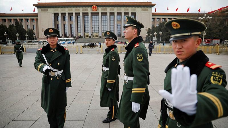 """Bắt đầu từ tháng 3, nhiều nhóm tự xưng là """"tổ chức tự vệ vũ trang Trung Quốc"""" đã xuất hiện trên WeChat,"""