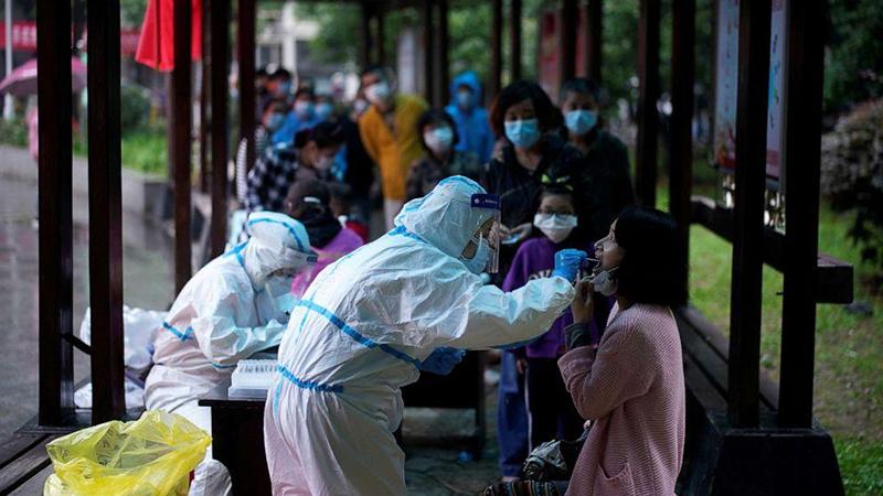 Vũ Hán có 53 đơn vị và 211 điểm thử nghiệm axit nucleic, với khả năng kiểm tra đo lường trung bình hàng ngày là 46.000 lượt người.