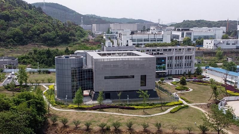 Trụ sở Viện Virus học Vũ Hán tại thành phố Vũ Hán, tỉnh Hồ Bắc. Ảnh: AFP.
