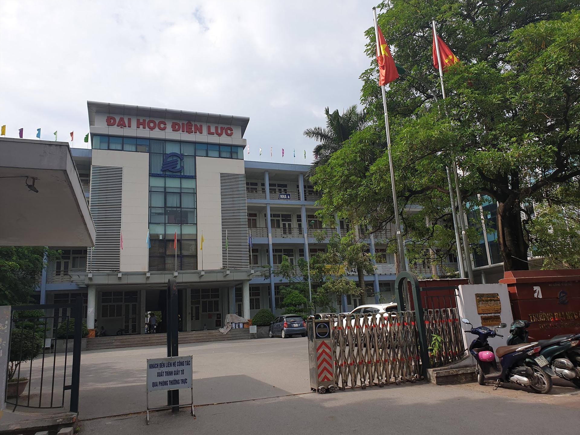 Bộ Công Thương vừa có kết luận thanh tra chỉ ra hàng loạt sai phạm tại Trường Đại học Điện lực. (Ảnh qua laodong)