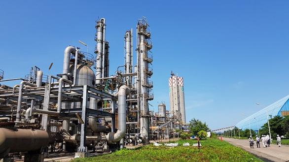 Nhà máy Đạm Ninh Bình một trong những nhà máy đang mắc kẹt với nhà thầu Trung Quốc. (Ảnh qua tuoitre)