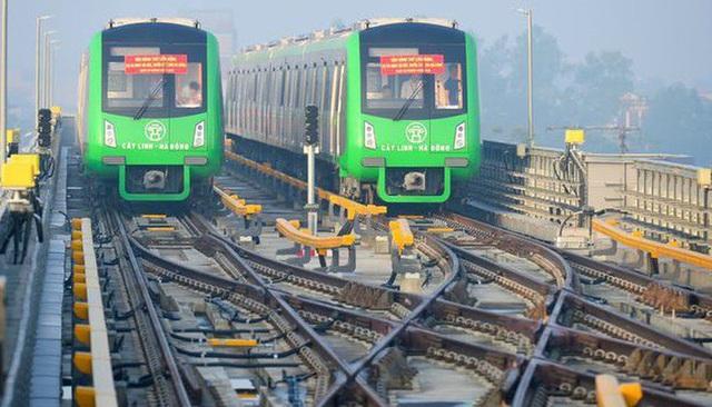 Tuyến đường sắt Cát Linh - Hà Đông có chiều dài 13,1 km, được khởi công xây dựng vào năm 2011 nhờ nguồn vốn ODA Trung Quốc và vốn đối ứng của Việt Nam. (Ảnh qua dantri)