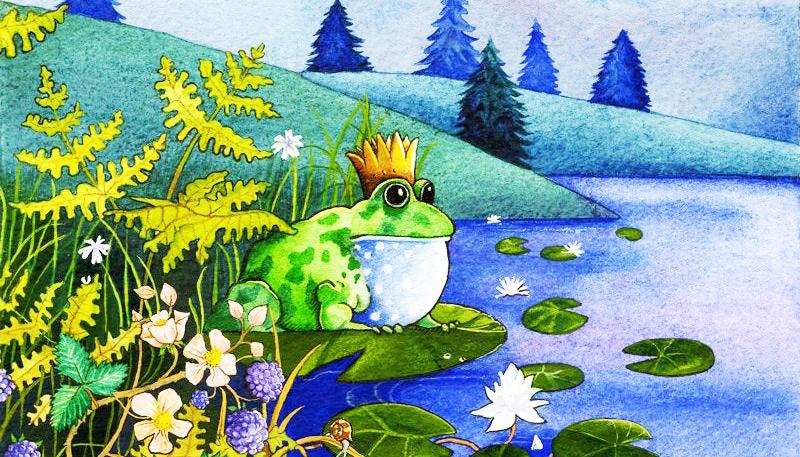 """""""Hoàng tử ếch"""" trong """"Truyện cổ Grimm"""" là câu chuyện được biết đến rộng rãi và lưu lại nhiều bài học cho hậu thế."""