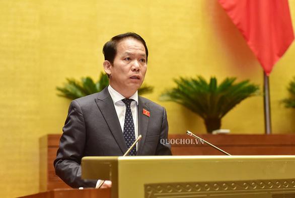 Chủ nhiệm Ủy ban Pháp luật của Quốc hội Hoàng Thanh Tùng. (Ảnh qua tuoitre)