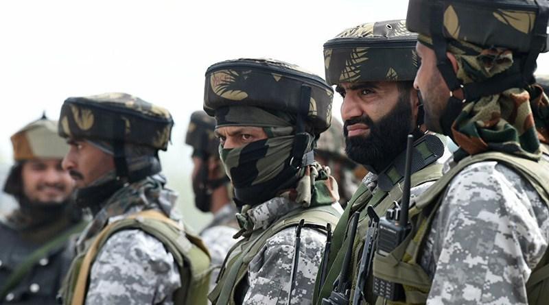 Binh lính Ấn Độ ở khu vực biên giới