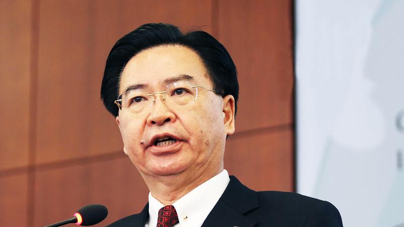 Ông Ngô Chiêu Tiếp, Bộ trưởng Ngoại giao Đài Loan