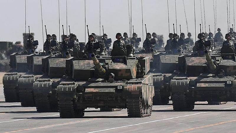 Quân đội Trung Quốc.