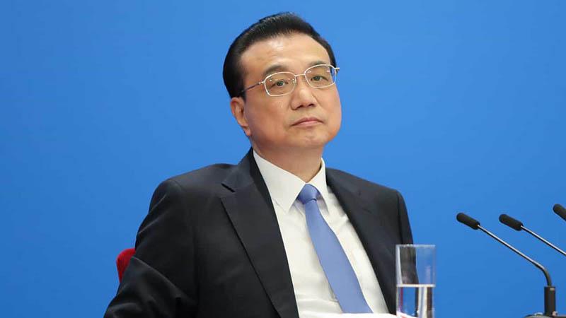 """Thủ tướng Trung Quốc Lý Khắc Cường đã trả lời các câu hỏi của các phóng viên nước ngoài sau kỳ họp """"Lưỡng hội""""."""