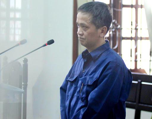 Bị cáo Nguyễn Tiến Dũng. (Ảnh qua vnexpress)