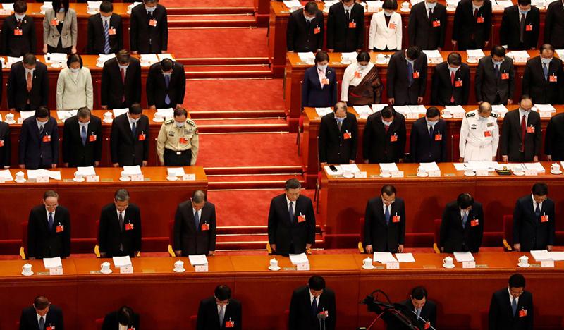 """Chính quyền ĐCSTQ đã thông qua quyết định về Luật An ninh Quốc gia cho Hồng Kông trong kỳ họp """"Lưỡng hội""""."""