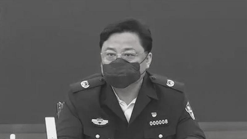 """Tôn Lực Quân, Thứ trưởng Bộ Công an ĐCSTQ đã """"ngã ngựa"""" vào ngày 19/4."""
