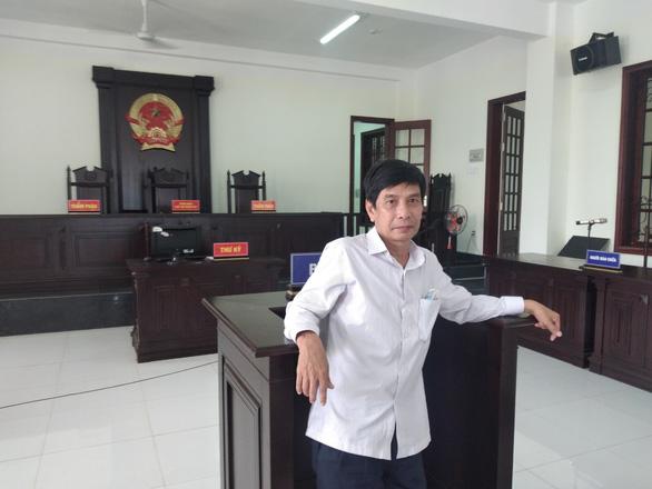 Ông Lương Hữu Phước tại tòa trước khi nghe tuyên án. (Ảnh qua tuoitre)