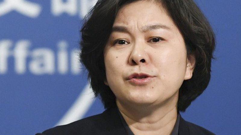 Hoa Xuân Oánh – người phát ngôn của Bộ Ngoại giao Đảng Cộng sản Trung Quốc