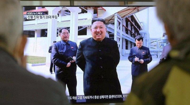 Kim Jong-un đã tham dự lễ khánh thành Nhà máy Phân bón Suncheon Phosphate vào ngày 1/5. (Ảnh qua Politico)