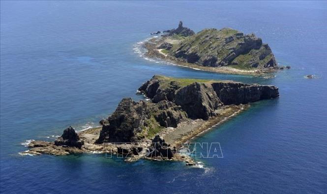 Quần đảo tranh chấp mà Nhật Bản gọi là Senkaku và Trung Quốc gọi là Điếu Ngư. (Ảnh qua baotintuc)