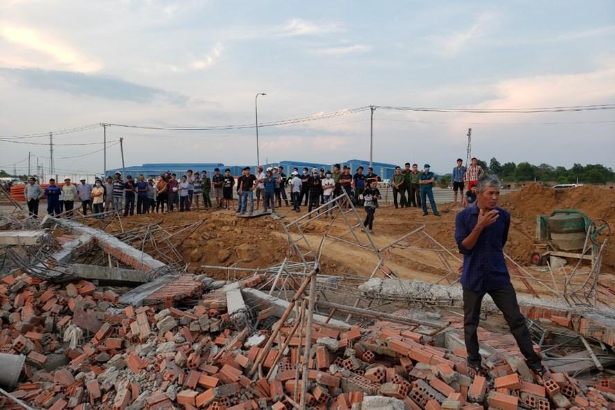Vụ sập công trình ở Đồng Nai: Người sống sót bàng hoàng kể lại - Ảnh 1