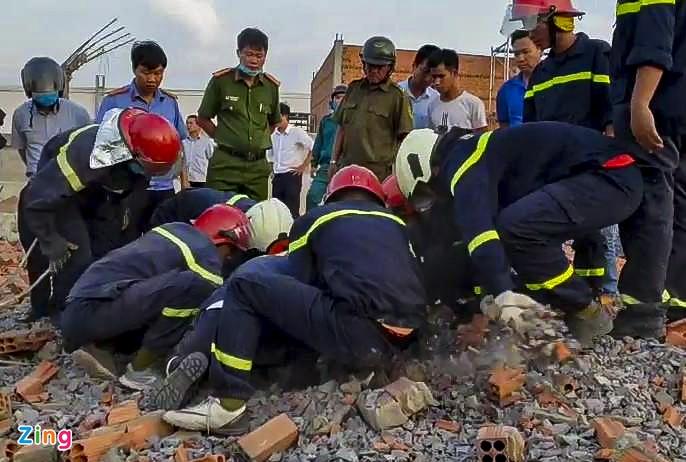 Vụ sập công trình ở Đồng Nai: Người sống sót bàng hoàng kể lại - Ảnh 3