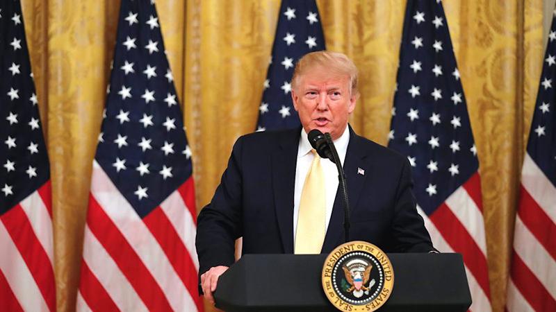 Ông Trump cho biết 'ông không hài lòng trước động thái từ chính quyền Trung Quốc, Hồng Kông sẽ khó giữ được ngôi vị trung tâm tài chính nếu bị Trung Quốc nắm quyền kiểm soát.